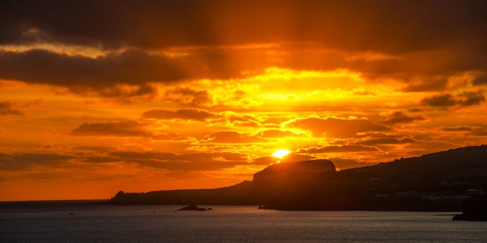 Sunset in Faial